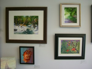 Examples of paintings on offer