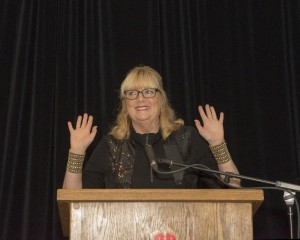 Our MC, Lynn MacDonald
