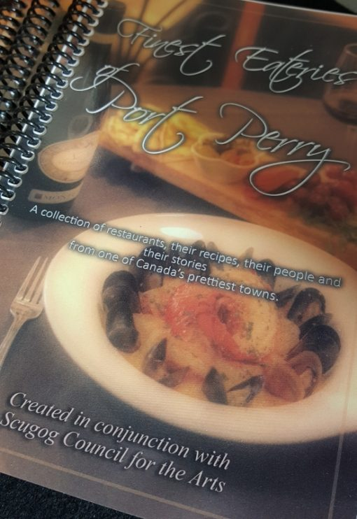 A cookbook from Port Perry