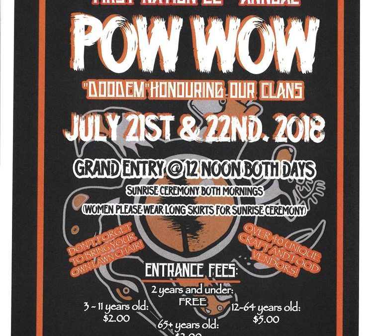 Mississaugas of Scugog Island First Nation 22nd Annual Pow Wow