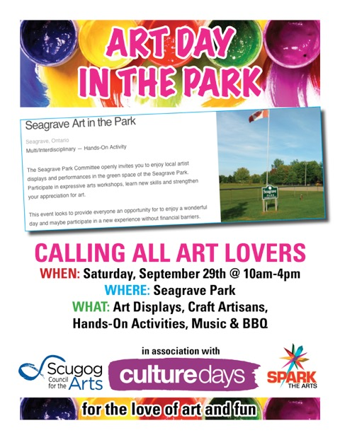 Seagrave Art in the Park