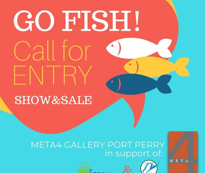 Go Fish! Fundraiser Art Show and Sale