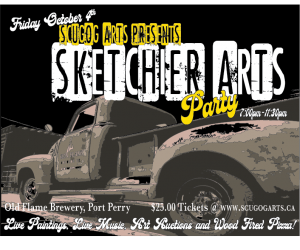 Sketchier Arts Party Tickets NOW on SALE!