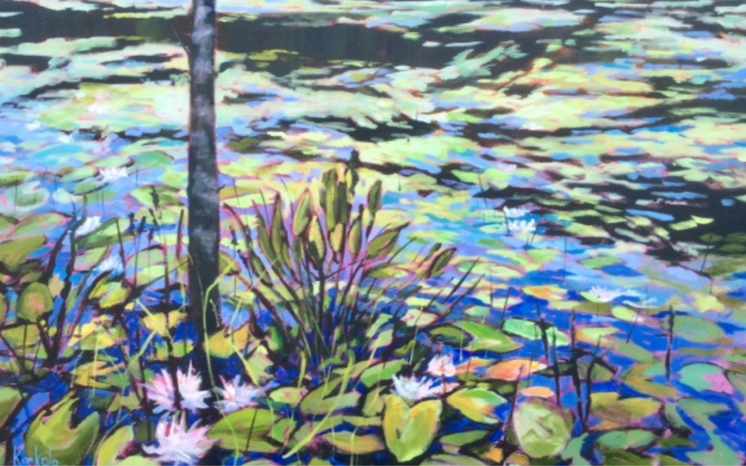 Along The Trail: Everyday Nature in Acrylic