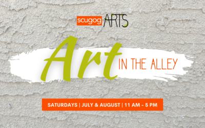 NEW THIS SUMMER: Art in the Alley