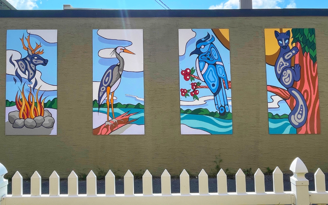 Colour, Culture, and Community: The Making Of A Mural